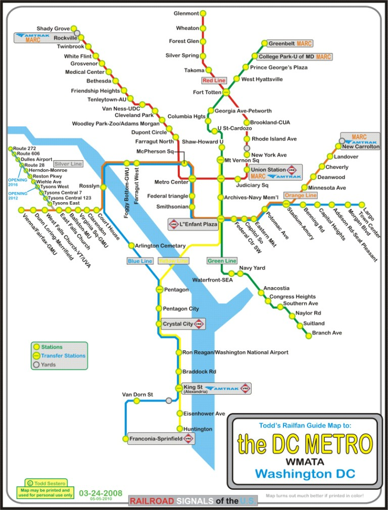 the DC Metro System