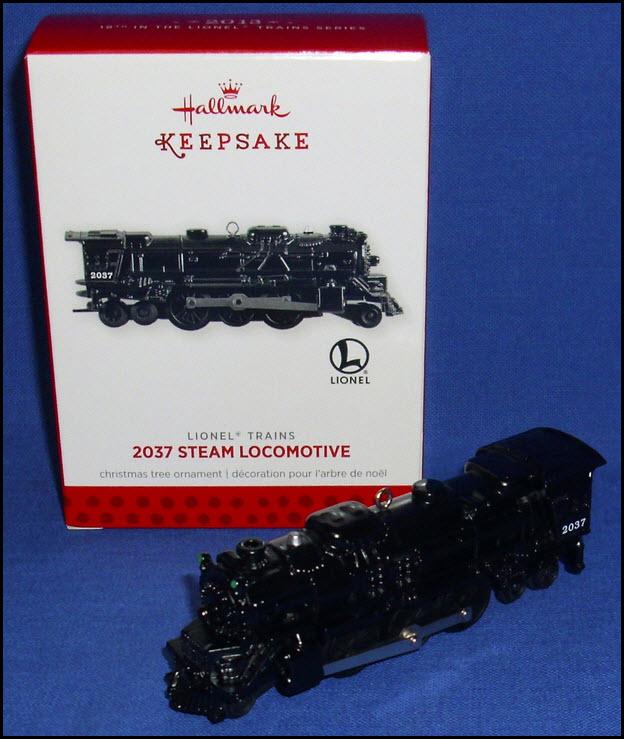 Hallmark 2015 Lionel Chessie System Locomotive series Ornament