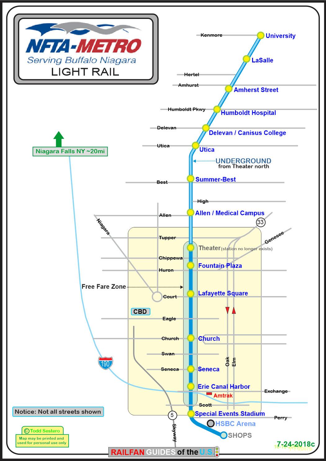 Buffalo S Light Rail System